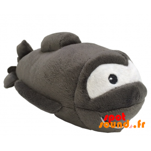 Sous-marin en peluche, gris. Peluche sous-marine - PELFR040342 - plush
