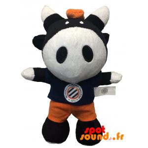 Black And White Cow, Plush. Plush Cow - PELFR040343 - plush