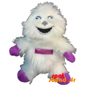 Yeti White, Plush, All Hairy. Plush White Yeti - PELFR040344 - plush