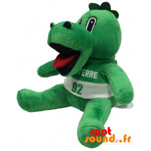 Crocodile plyš. Plyšové zelené krokodýl - PELFR040345 - plush