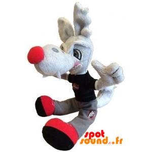 Grauer Wolf Gestopft. Plüsch Grau Kojote - PELFR040350 - plush