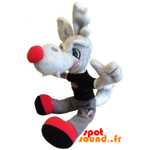Szary Wilk Wypchany. Pluszowy Szary Kojot - PELFR040350 - plush