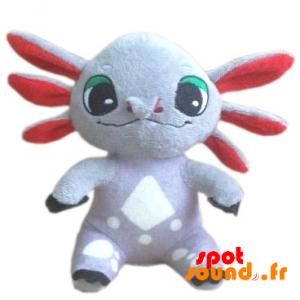 Plysj Axolotl. Plush Meksikanske Salamander - PELFR040355 - plush