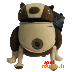 Chien Trashcan, compagnon d'Astro Boy. Peluche Trashcan - PELFR040356 - plush