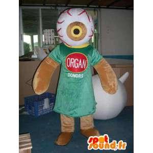 Organ Donation Mascot - Scienza e Medicina di carattere