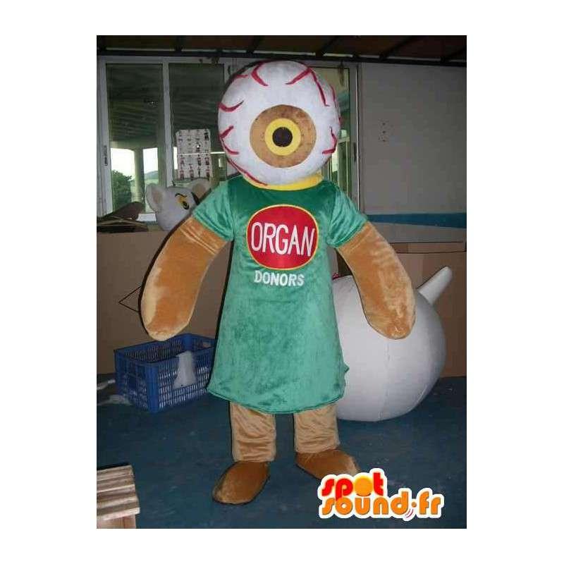 Mascot Organspende - Wissenschaft und Medizin in Charakter! - MASFR00446 - Maskottchen nicht klassifizierte