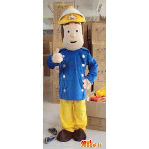 Male firefighter mascot - Ideal for barracks - Polyfoam