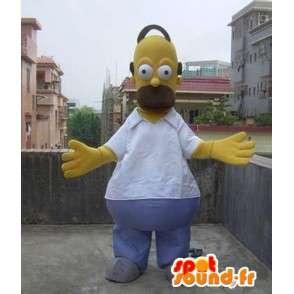 Κοστούμια μασκότ Homer Simpson - Σίμπσονς Οικογένεια - MASFR00502 - Μασκότ The Simpsons