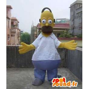 Kostüme Maskottchen Omer Simpson - Simpson Familie - MASFR00502 - Maskottchen der Simpsons