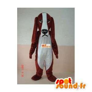 Costume della mascotte grande dell orecchio del cane - Basset Hound - Cocker - MASFR00236 - Mascotte cane