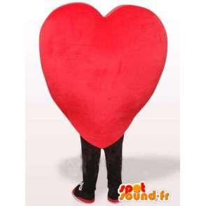 Mascotte rood hart - Verschillende maten en snelle verzending - MASFR00140 - Niet-ingedeelde Mascottes