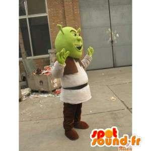 Mascot Shrek - Oger - Schnelle Lieferung Kostüm - MASFR00150 - Maskottchen Shrek
