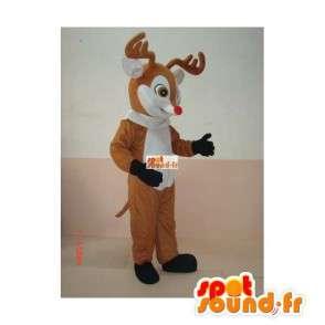 Mascot Deer tre - Animal Costume ut av skogen - MASFR00176 - Stag og Doe Mascots