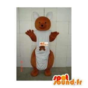 Mascotte Kangourou d'Australie - Déguisement avec Bébé - MASFR00229 - Mascottes Kangourou