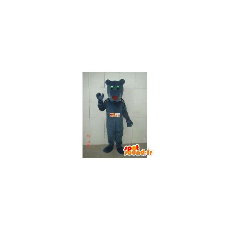Tiger mascot classic gray brown - Panther Plush fabric - MASFR00286 - Tiger mascots