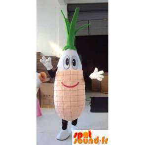 Gemüse-Maskottchen - Rübe - Ideal für die Förderung maraicher! - MASFR00450 - Maskottchen von Gemüse