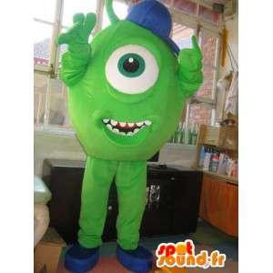 Mascot Monster & Cie - Cartoon eye - Hurtig forsendelse -