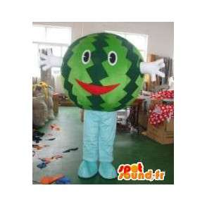 Mascot head Watermelon - Fruit was in disguise-Costume - MASFR00312 - Fruit mascot