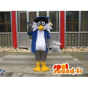 Professor Linux mascot - Bird with accessories - Fast shipping