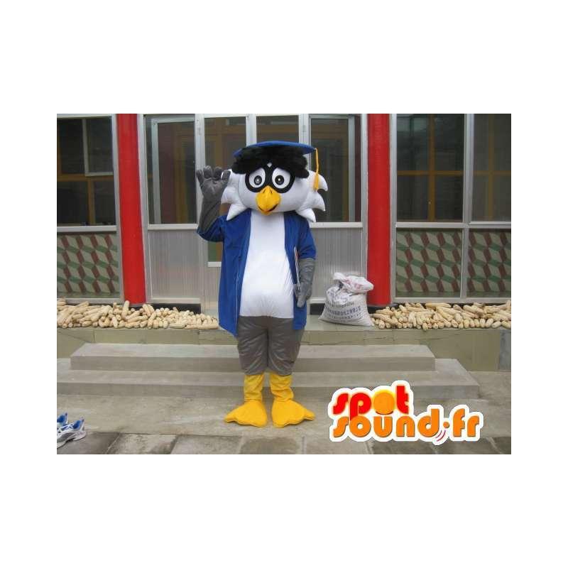 Profesor Linux maskotem - Bird s příslušenstvím - Rychlé dodání - MASFR00421 - maskot ptáci