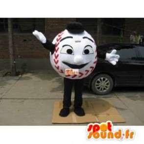 Μασκότ μπάλα Base Ball - βασικά ανθρώπινα Ball Κοστούμια - MASFR00221 - Ο άνθρωπος Μασκότ