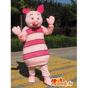 Μασκότ χοιριδίων - Γουρούνι ροζ - φίλος του Winnie the Pooh - MASFR00537 - μασκότ Pooh