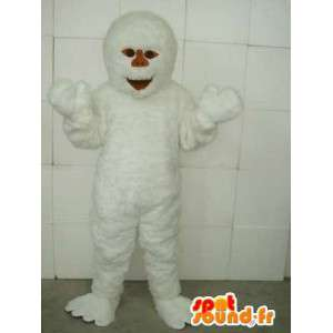 Yeti Mascot - grotte Animal & Snow - Disguise bianco