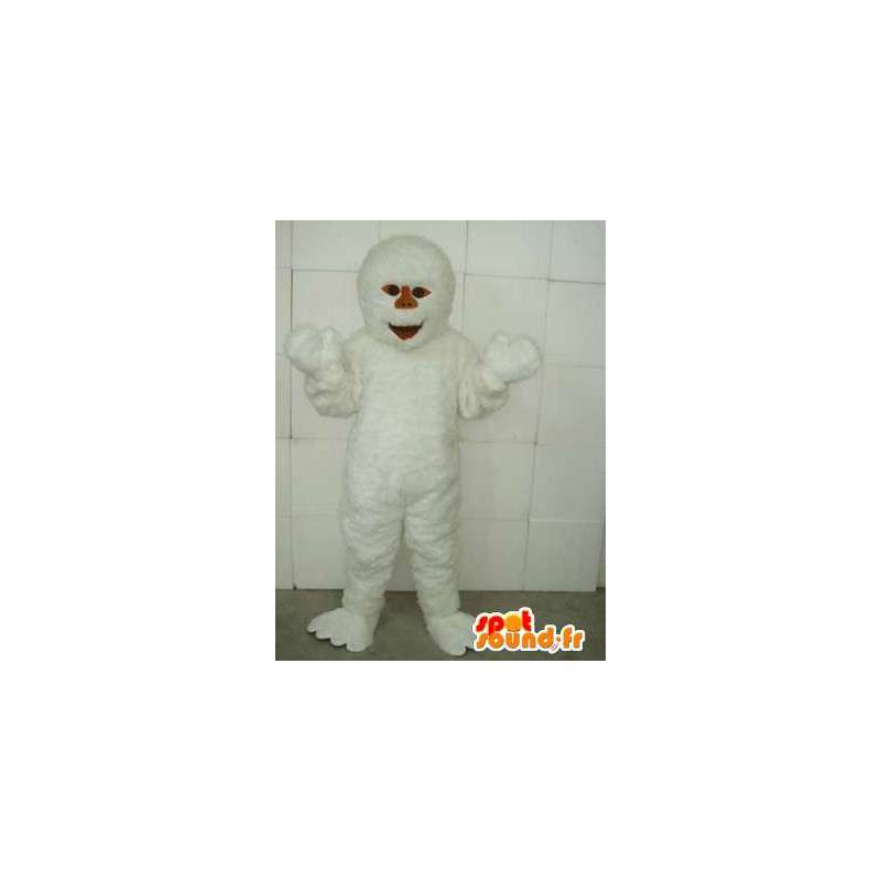 Yeti Mascot - Animal & Snow caves - Disguise white - MASFR00219 - Missing animal mascots