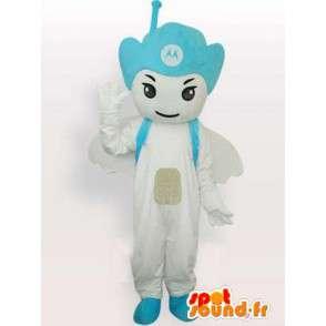 Motorola Antenna mascot Blue - Angel mobile - MASFR00544 - Mascots unclassified