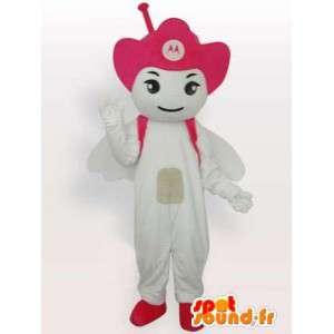 Mascot Antenna Motorola Pink - Angel mobile