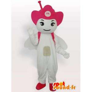 Mascot Pink Motorola Antenne - mobile Angel