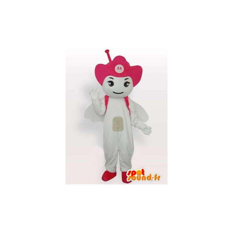 Mascot Antenna Motorola Pink - Angel mobile - MASFR00545 - Mascots unclassified