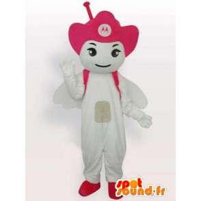 Mascot Antenna Motorola Rosa - Angelo cellulare - MASFR00545 - Mascotte non classificati