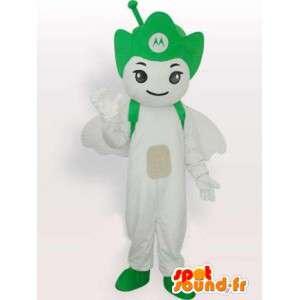 Green Mascot Motorola Antenna - mobile Angel