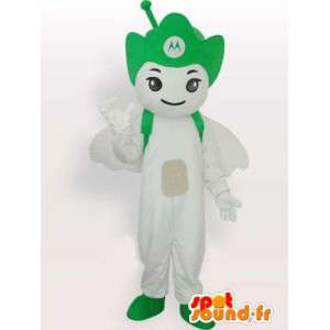 Motorola Antenna green mascot - Angel mobile