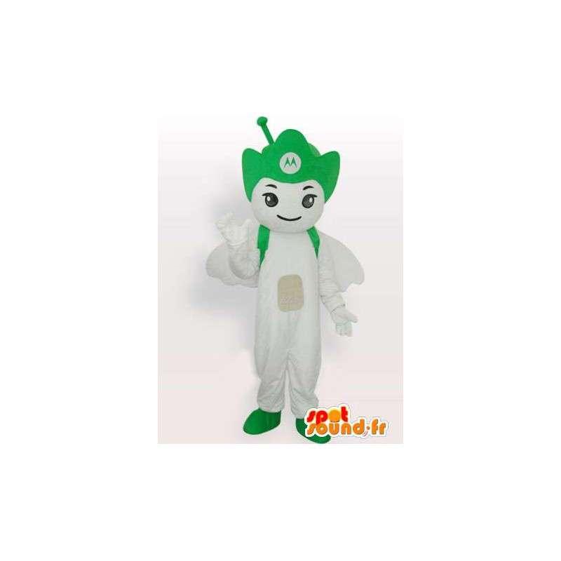Motorola Antenna green mascot - Angel mobile - MASFR00546 - Mascots unclassified