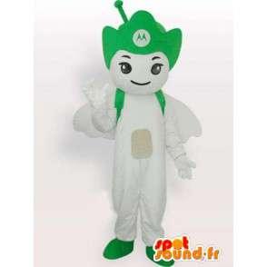 Motorola Antenna verde mascotte - Angelo cellulare - MASFR00546 - Mascotte non classificati