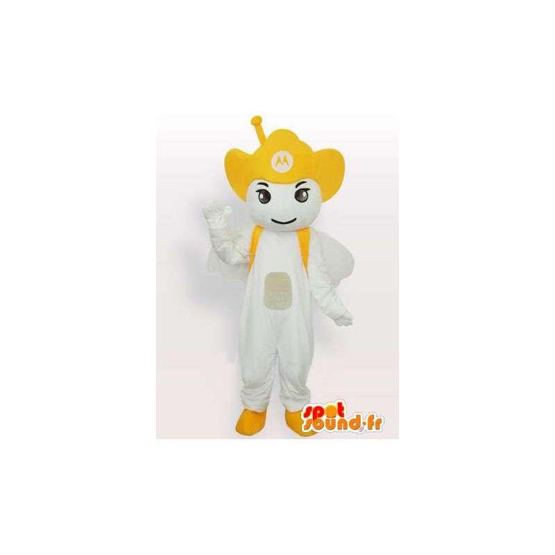 Motorola Antenna yellow mascot - Angel mobile - MASFR00547 - Mascots unclassified