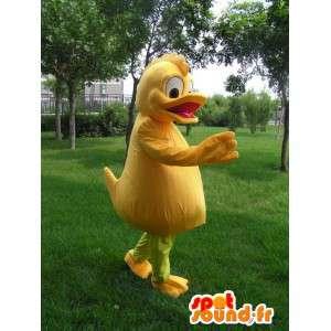 Orange Ente-Maskottchen - Kostüm Qualität Kostümparty