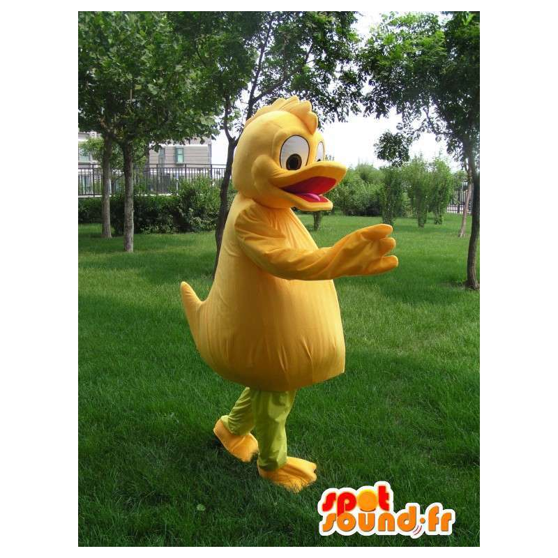 Orange Duck Mascot - Costume quality costume party - MASFR00170 - Ducks mascot