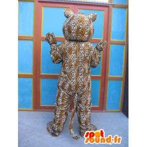 Mascotte de panthère rayée - Costume de félin - Déguisement savane - MASFR00575 - Mascottes Tigre