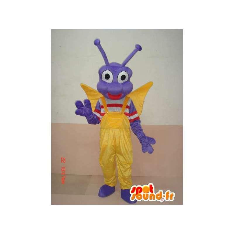 Mascotte d'insecte larve papillon - Costume personnage festif - MASFR00583 - Mascottes Papillon