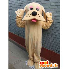 Μασκότ κλασικό μπεζ σκύλος - Μεταμφίεση - Γρήγορο ναυτιλία - MASFR00296 - Μασκότ Dog
