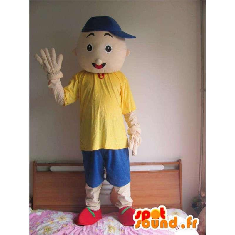 Giovane mascotte - ragazzo di strada - Kit di accessori - MASFR00597 - Umani mascotte