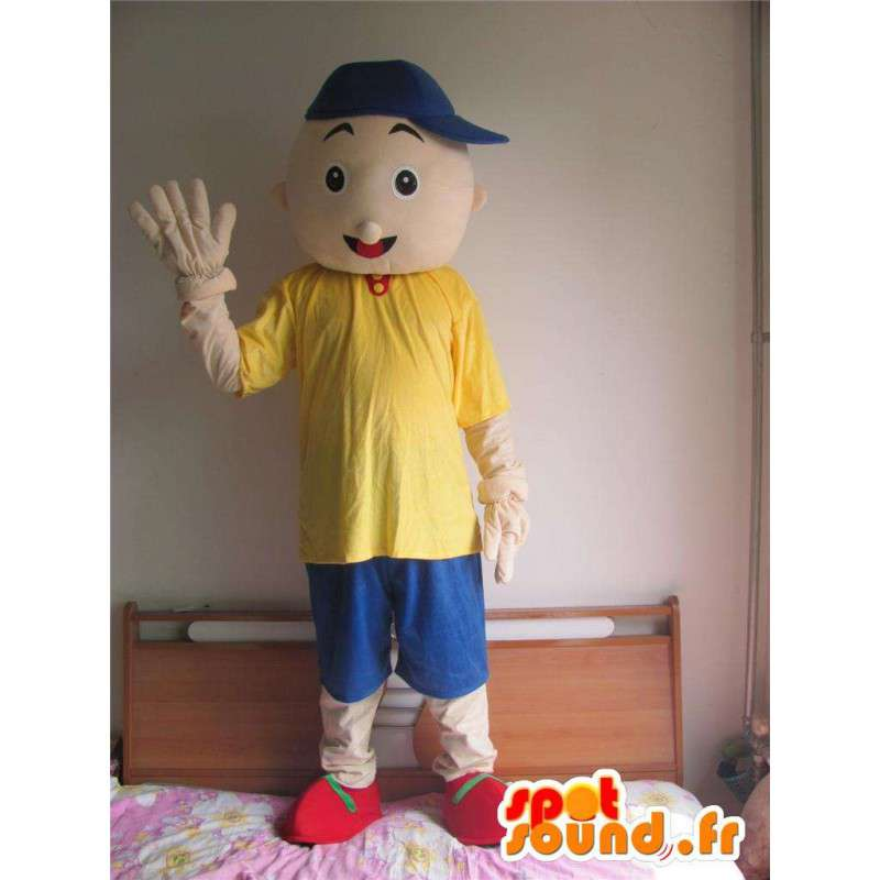 Mascot junger Mann - Straße boy - Zubehör-Kit - MASFR00597 - Menschliche Maskottchen