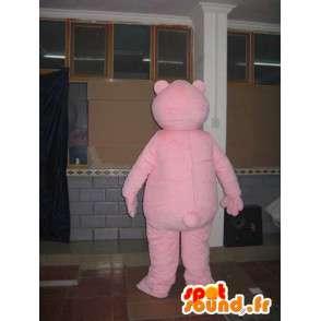 Maskot světle růžová pivař - Teddy Bear - Animal Costume - MASFR00598 - Bear Mascot