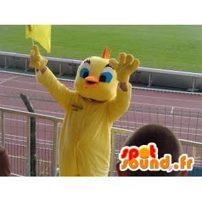 Mascot Head - Yellow Canary - Cartoon Tweety und Sylvester - MASFR00180 - Maskottchen Tweety und Sylvester