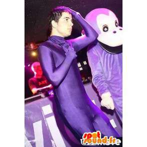 Mono mascota púrpura Classic - traje del mono animal de la selva - MASFR00305 - Mono de mascotas