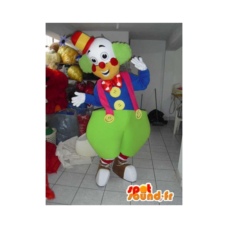 Maskot Giant klaun - Cirkus Disguise - Slavnostní Kostým - MASFR00612 - maskoti Circus