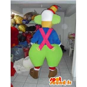 Μασκότ Giant Κλόουν - Αρ Disguise - Εορταστικό Κοστούμια - MASFR00612 - μασκότ Αρένα